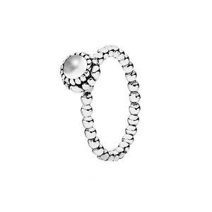 Pandora April Stone Bubble Ring